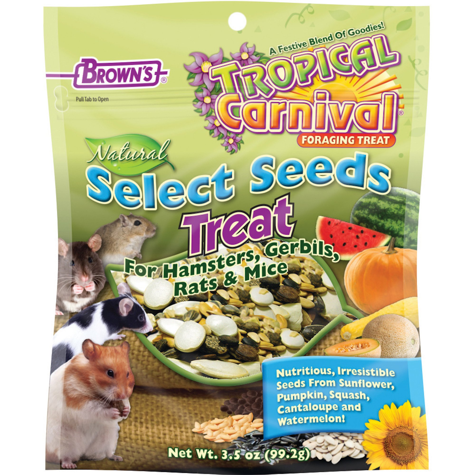 1f1b4f8d03fd Brown's Tropical Carnival Natural Select Seeds Treat | Petco