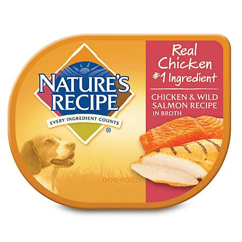Natures recipe adult dog food trays chicken salmon petco natures recipe adult dog food trays chicken salmon forumfinder Choice Image