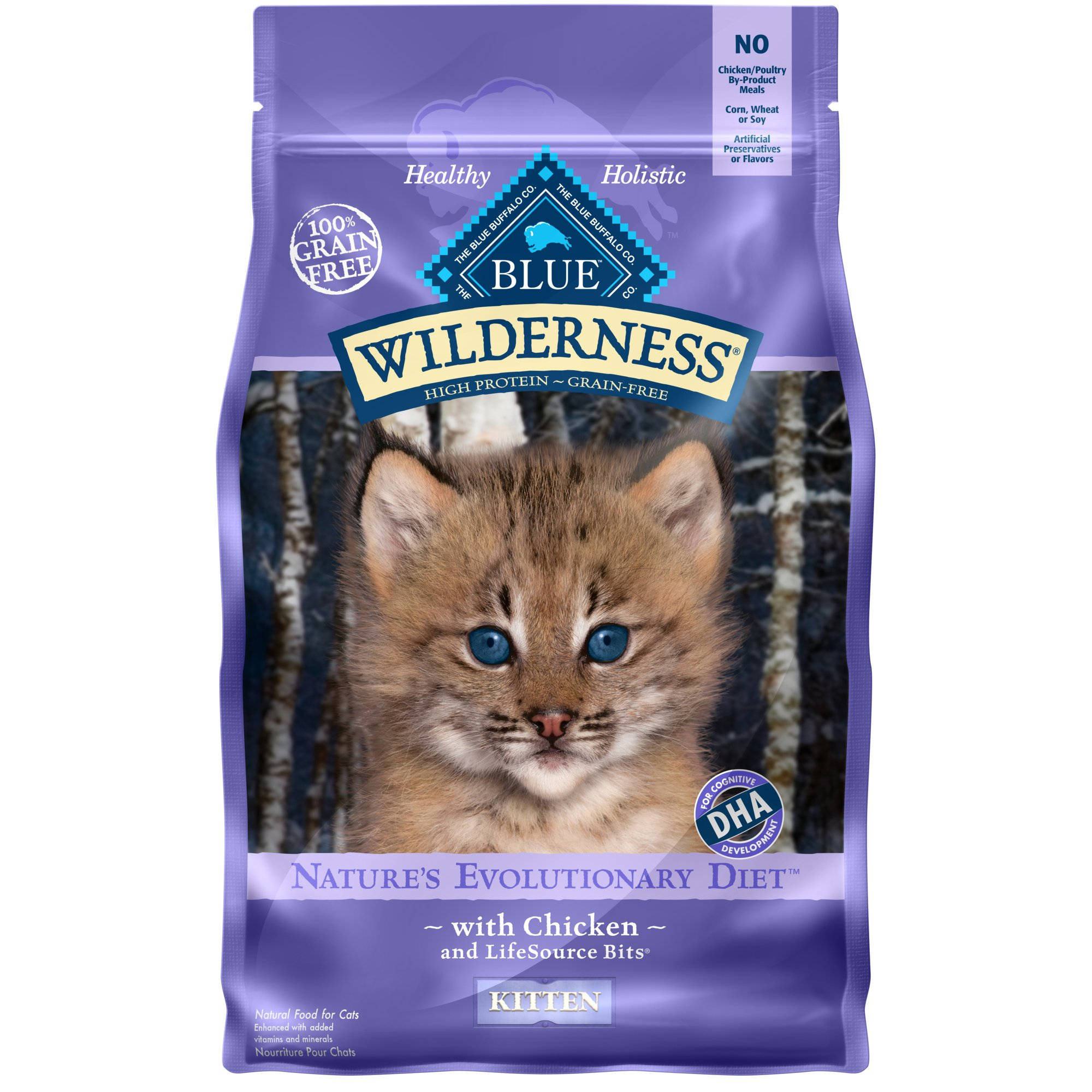 Blue Buffalo Blue Wilderness Kitten Chicken Recipe Dry Cat Food | Petco at Petco in Braselton, GA | Tuggl