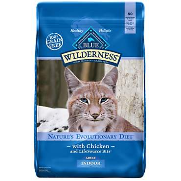 Blue Buffalo Blue Wilderness Adult Indoor Chicken Recipe Dry Cat Food