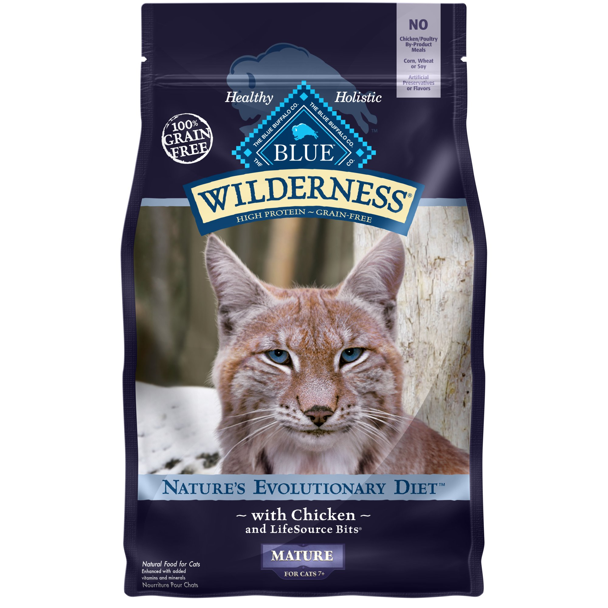 Blue Buffalo Wilderness Cat Food Grain Free Chicken  Lbs