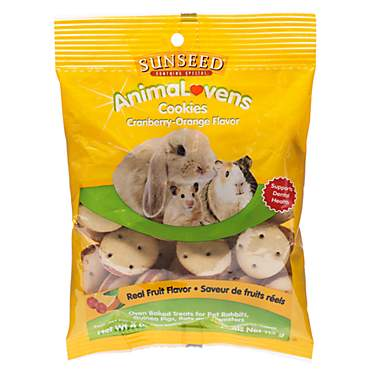 Sun Seed AnimaLovens Cookies Rabbit, Guinea Pig, Rat & Hamster Treat