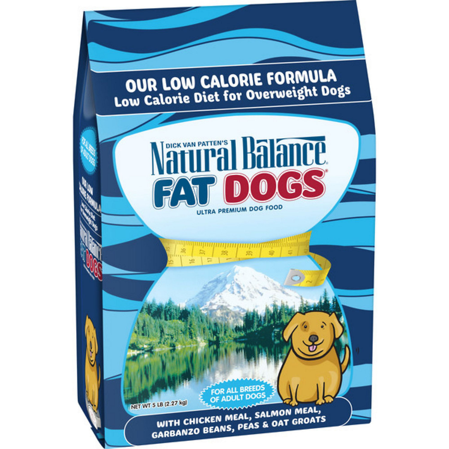 Natural Balance Fat Dogs Adult Dog Food 15 Lbs.
