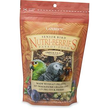 Lafeber's Senior Bird Nutri-Berries Parrot Food