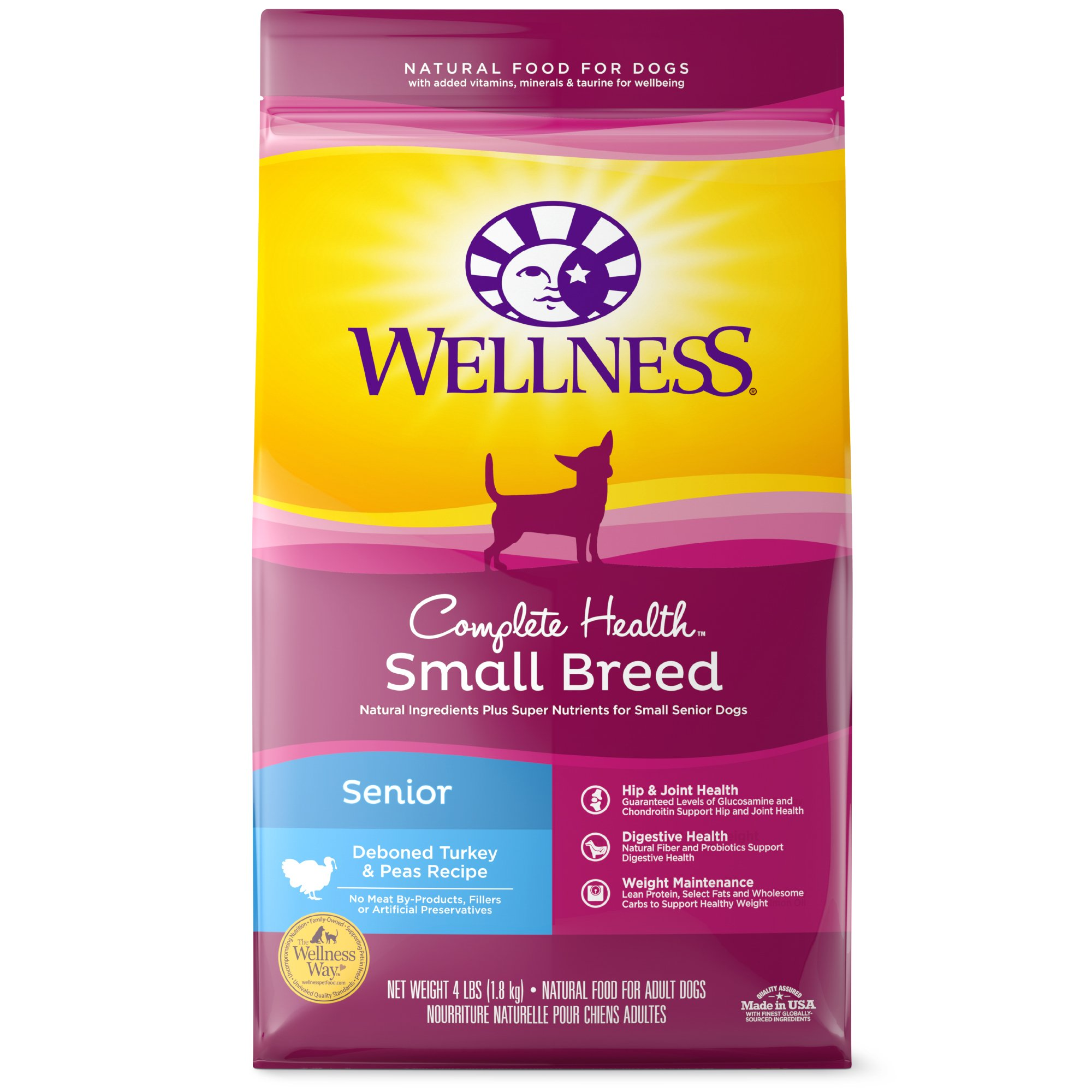 Wellness Complete Health Natural Small Breed Senior Health