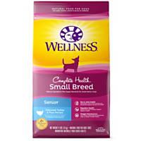 Wellness Small Breed Complete Health Turkey & Peas Senior Dog Food