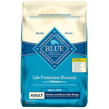 Blue Buffalo Blue Life Protection Formula Adult Small Bite Chicken & Brown Rice Dry Dog Food
