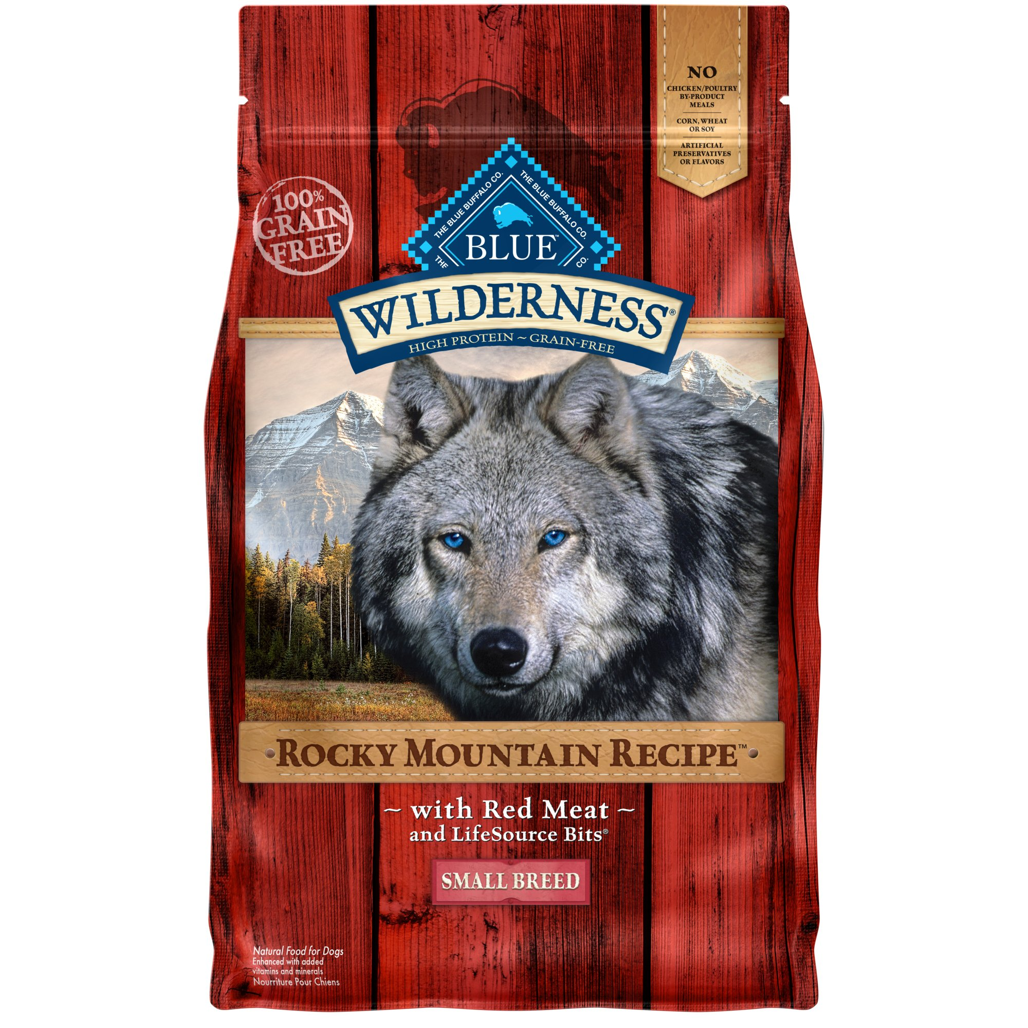 Blue Red Meat Dog Food Small Breed