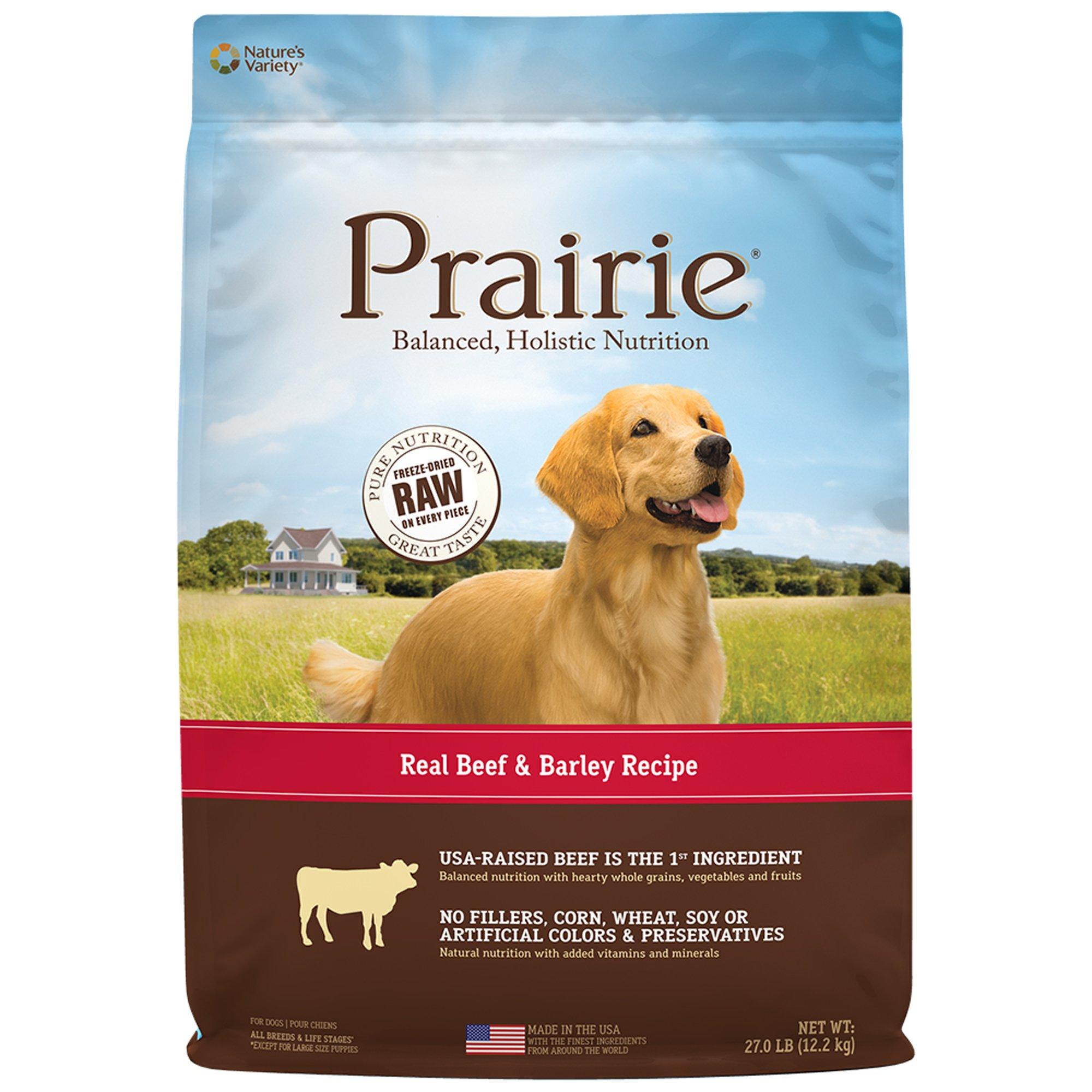 Beef Barley Dog Food