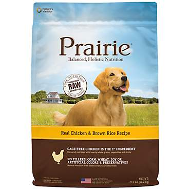 Nature's Variety Prairie Chicken & Brown Rice Dog Food