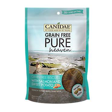 CANIDAE Grain Free PURE Heaven with Salmon & Sweet Potato Dog Treats