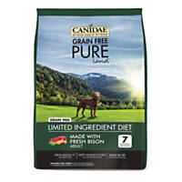 CANIDAE Grain Free PURE Land Adult Fresh Bison Dry Dog Food