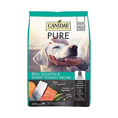 CANIDAE Grain Free PURE Sea with Fresh Salmon Dry Dog Food