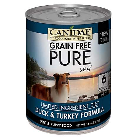 CANIDAE Grain Free PURE Elements Adult Dog Dry Formula Made with Real Lamb CANIDAE Grain Free PURE formulas use simple recipes for sensitive pets.