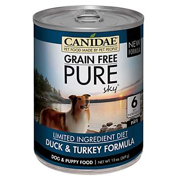 CANIDAE Grain Free PURE Sky Duck & Turkey Formula Wet Dog Food