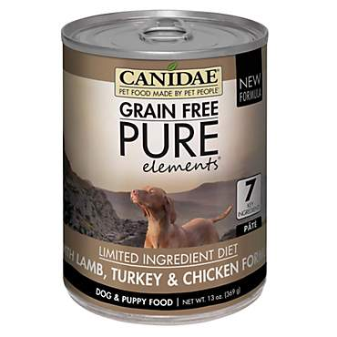 CANIDAE Grain Free PURE Elements with Lamb, Turkey & Chicken Wet Dog Food