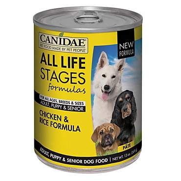 CANIDAE All Life Stages Chicken & Rice Wet Dog Food