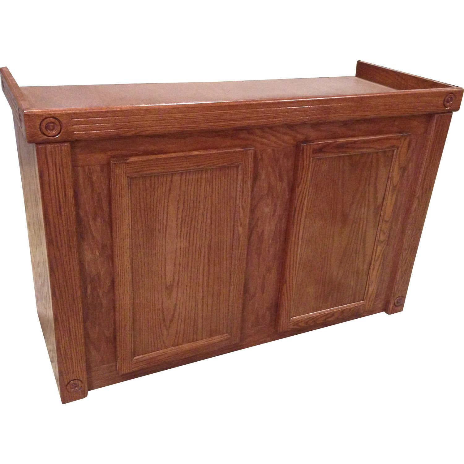 Ru0026J Enterprises 48X18 Cherry Oak Empire Series 75/90/110 Cabinet | Petco