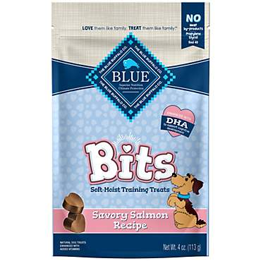 Blue Buffalo Blue Bits Savory Salmon Soft-Moist Training Dog Treats