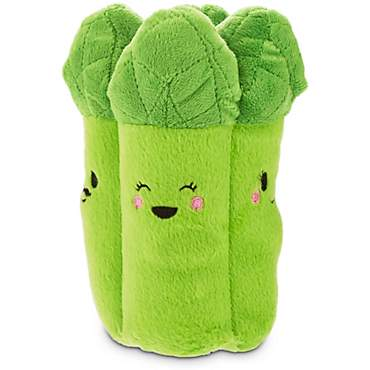 Leaps & Bounds Asparagus Plush Dog Toy