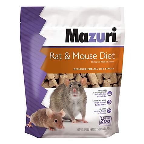 Mazuri Rat & Mouse Food, 2 lbs
