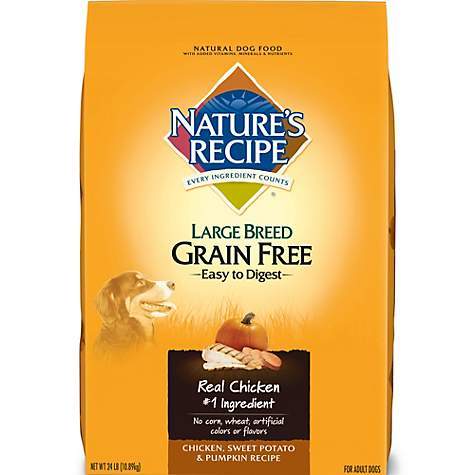 Natures recipe grain free chicken sweet potato pumpkin large natures recipe grain free chicken sweet potato pumpkin large breed adult dog food forumfinder Image collections