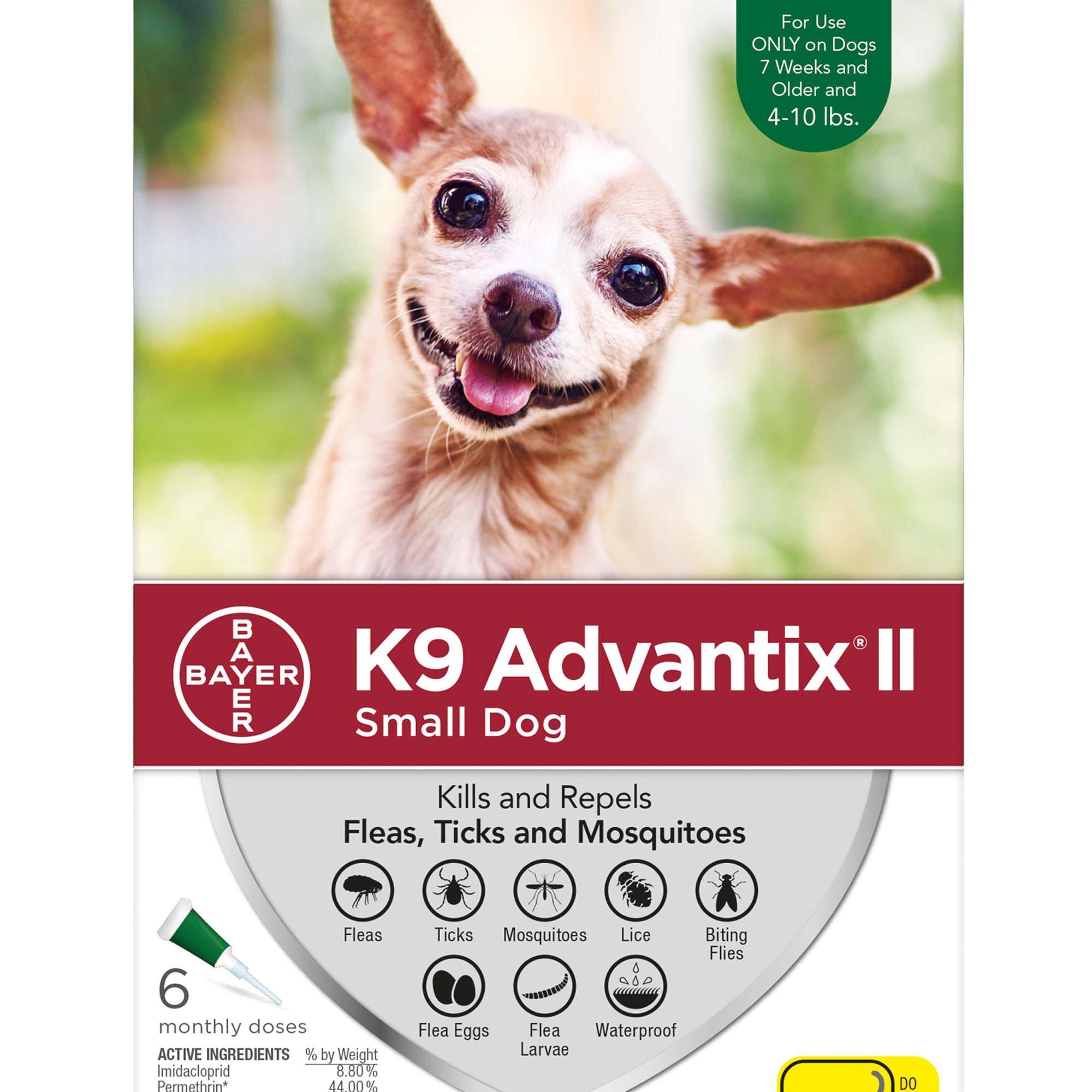 K9 Advantix Ii Topical Small Dog Flea Tick Treatment Petco