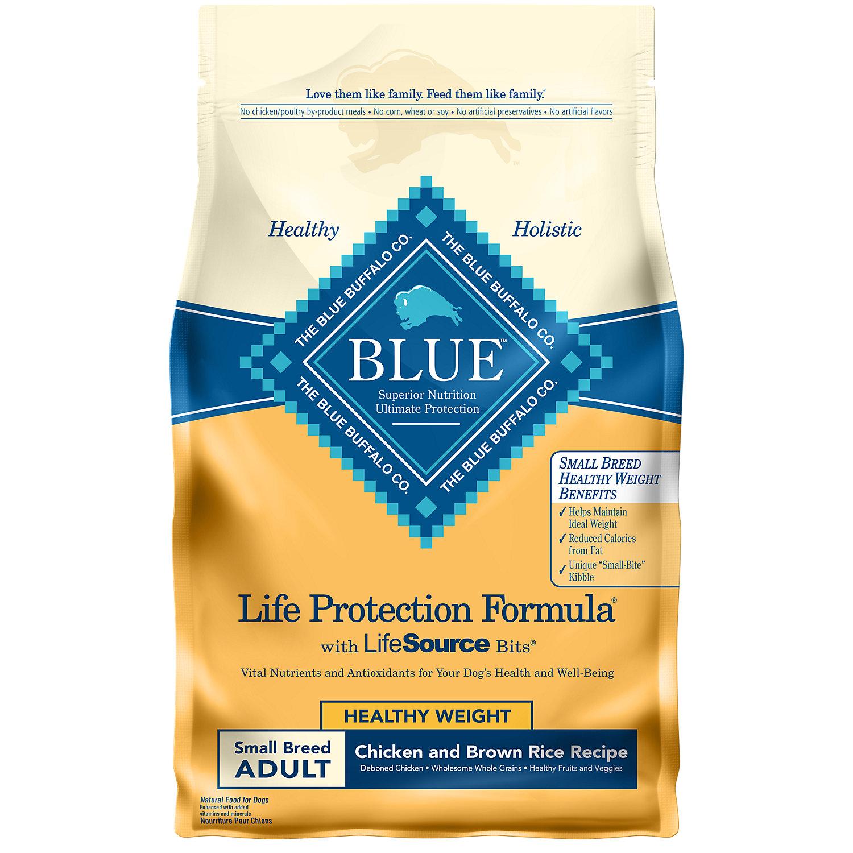 840243105694 UPC - Blue Buffalo Blue Adult Small Breed Healthy