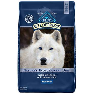 Blue Buffalo Blue Wilderness Chicken Senior Dry Dog Food