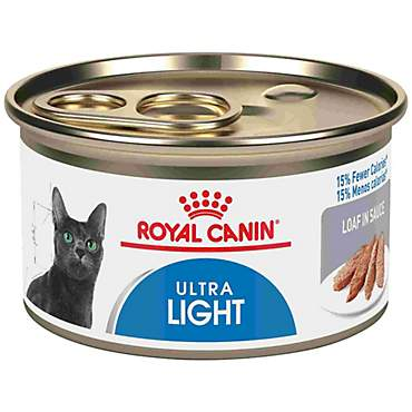 Royal Canin Ultra Light Loaf in Sauce Wet Cat Food
