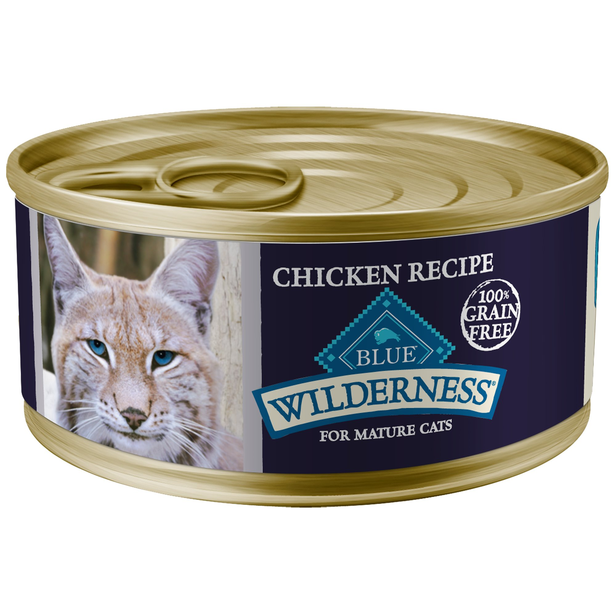 Blue Wilderness Mature Canned Cat Food