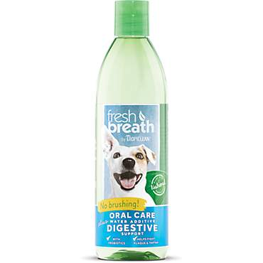 TropiClean Fresh Breath Plus Digestive Oral Care Water Additive