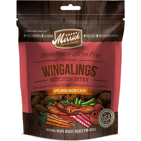 Merrick Grain Free Kitchen Bites Wingaling Dog Treats