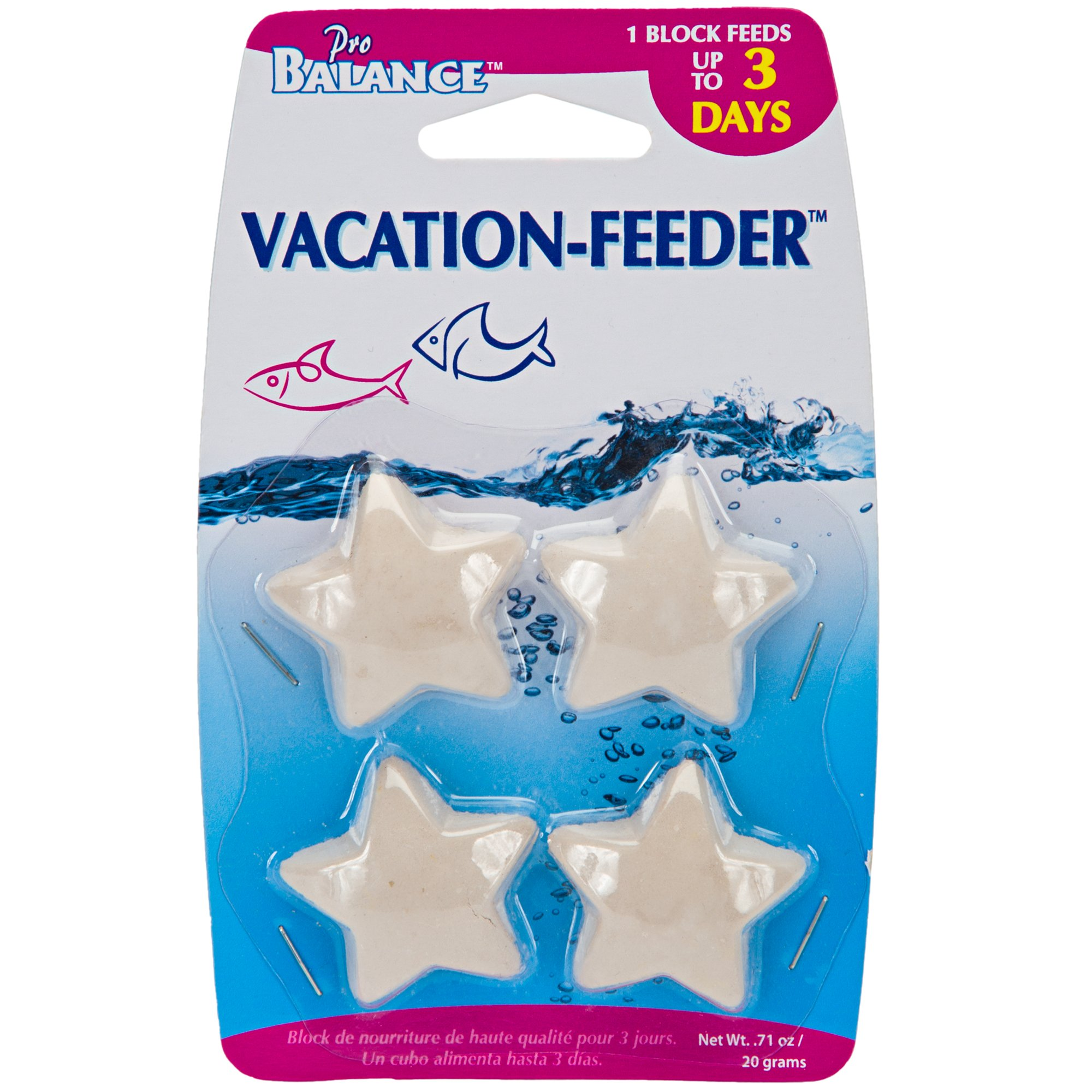 Penn plax star shape vacation fish feeder petco for Feeder fish petco