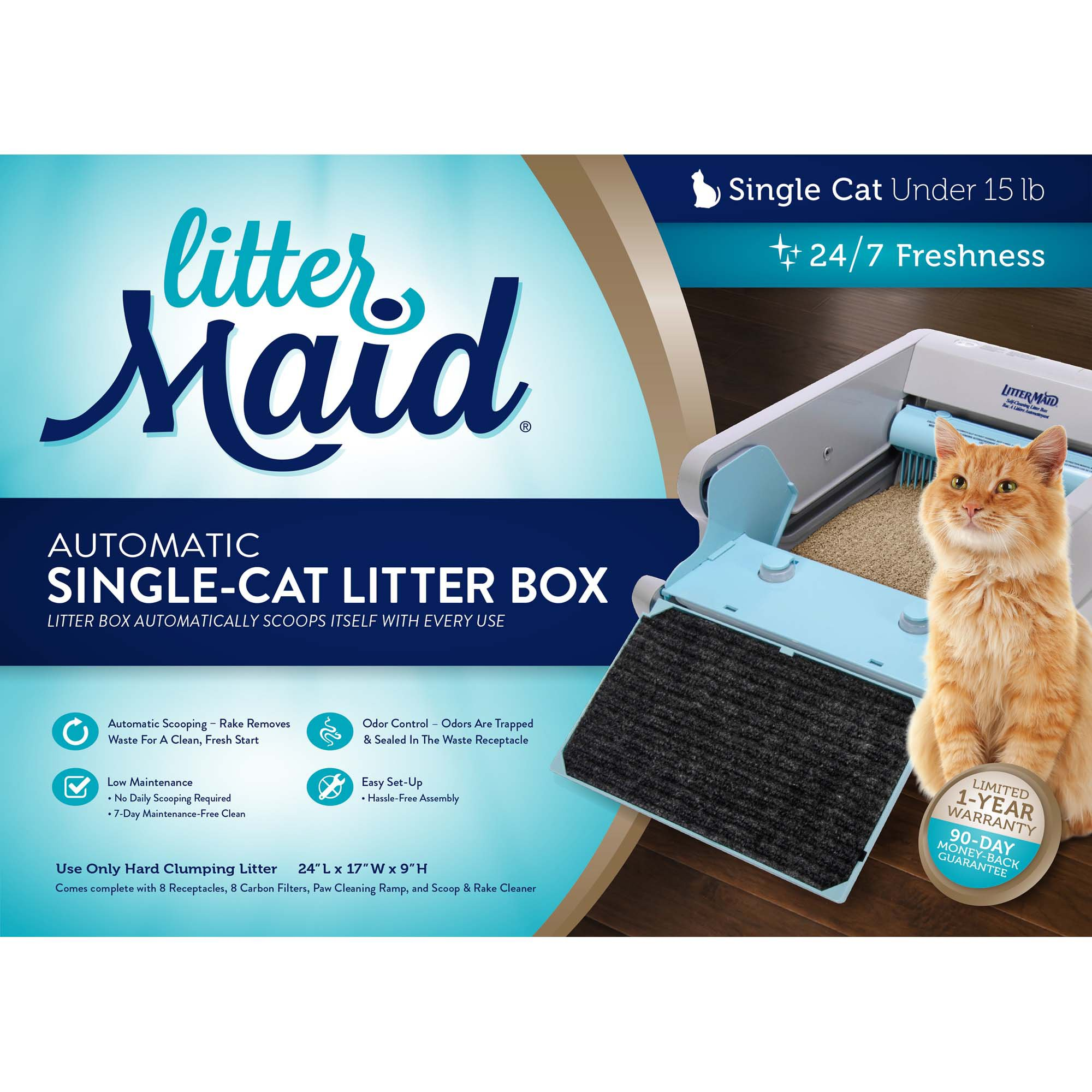 sc 1 st  Petco & LitterMaid Automatic Self-Cleaning Litter Box | Petco Aboutintivar.Com