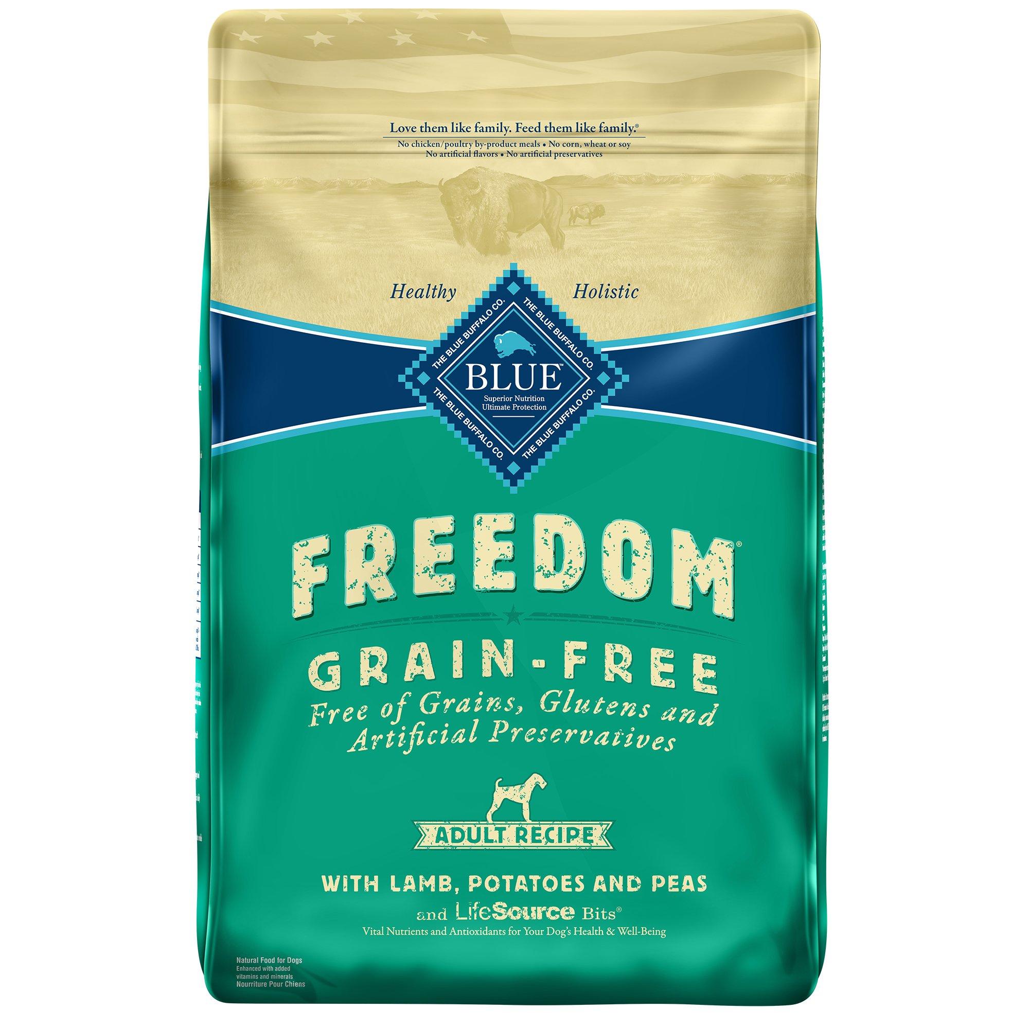 Blue Buffalo Grain Free Dog Food Lamb