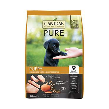CANIDAE Grain Free PURE Foundations Puppy Dry Formula with Chicken