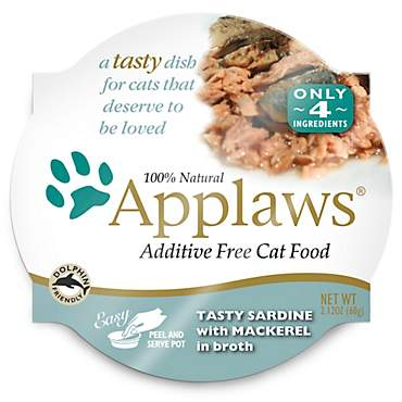 Applaws Tasty Sardine with Mackerel Peel & Serve Pot Cat Food