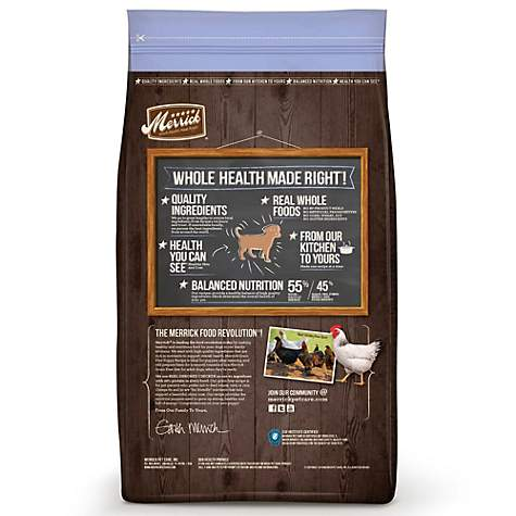 Merrick Grain Free Real Chicken Sweet Potato Puppy Food Petco