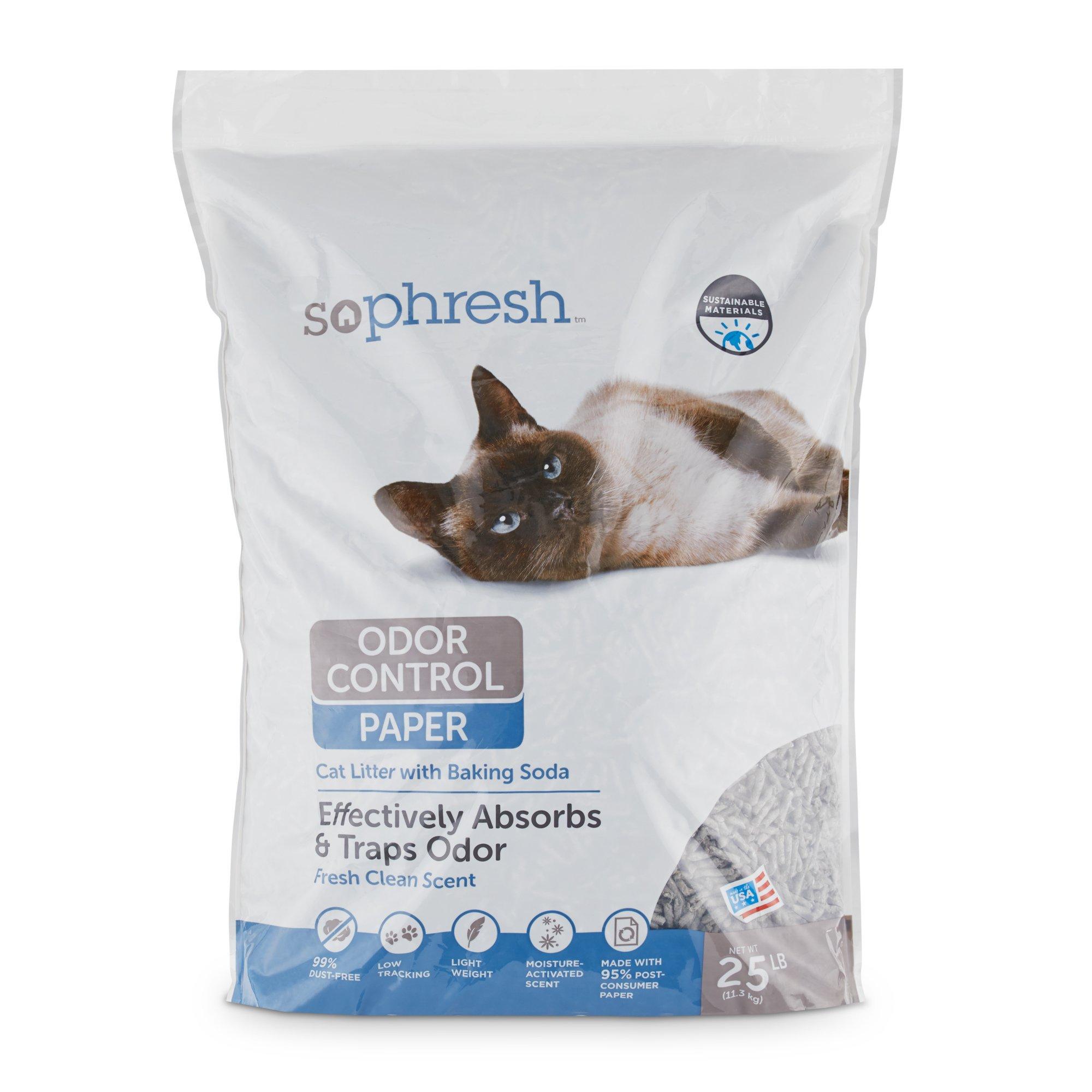 So Phresh Odor Control Paper Pellet Cat Litter