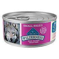 Blue Buffalo Wilderness Small Breed Turkey & Chicken Canned Dog Food