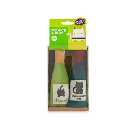 Leaps & Bounds Case of Wine Cat Toy