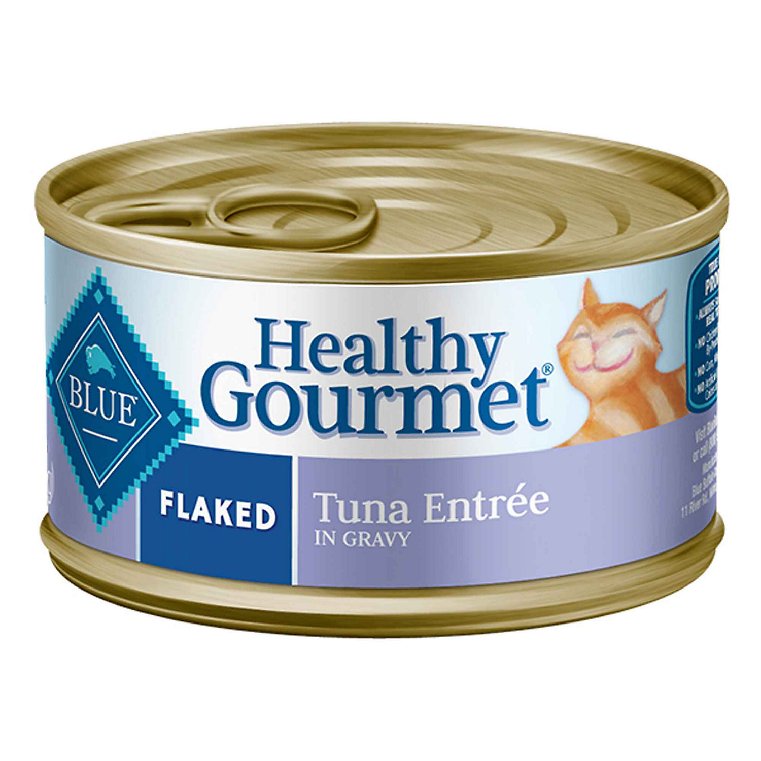 Blue Buffalo Healthy Gourmet Flaked Tuna Adult Canned Cat Food 5.5 Oz. Case Of 24