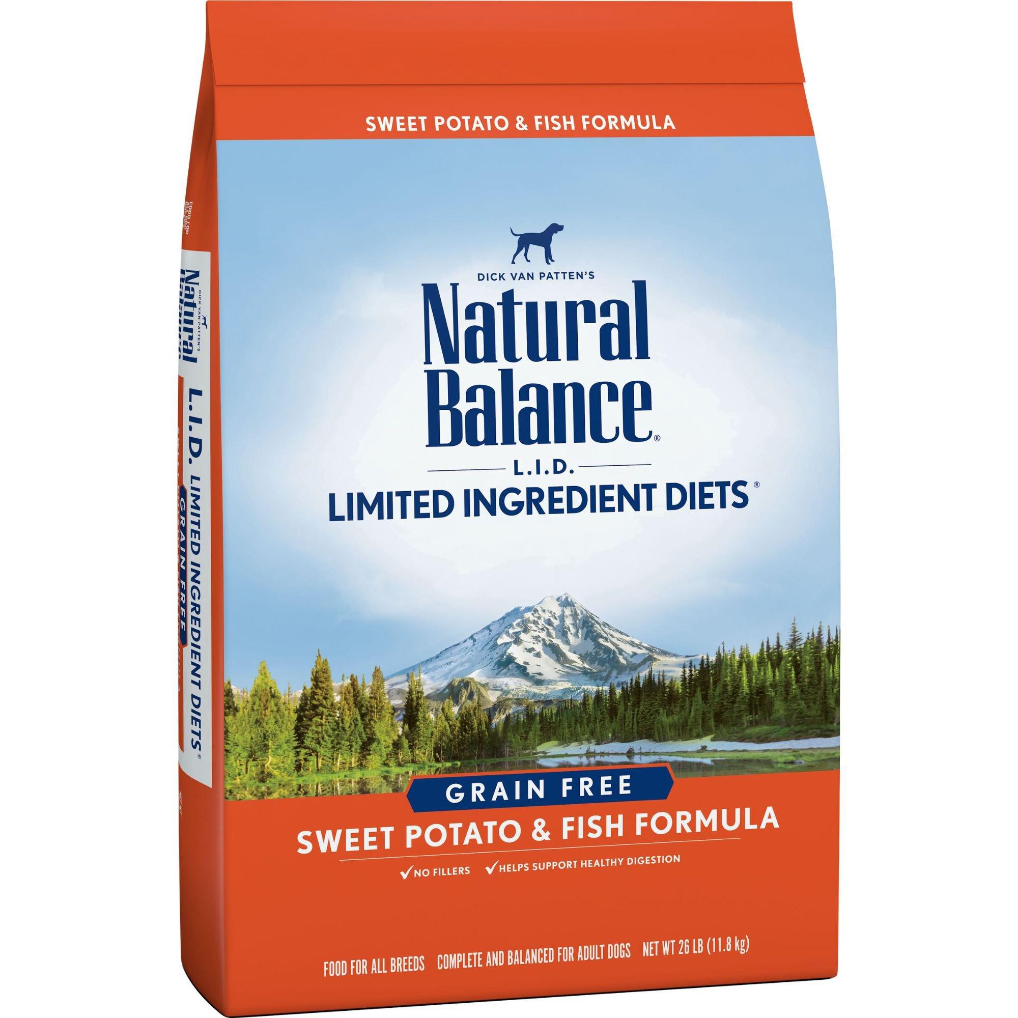 Natural Balance L.I.D. Limited Ingredient Diets Sweet Potato & Fish ...