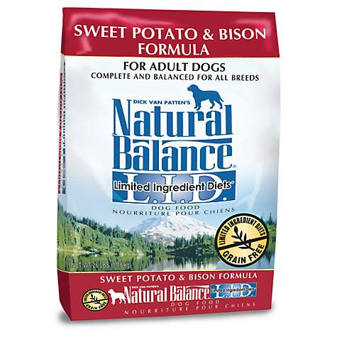 Natural Balance Dog Food Roll Ingredients