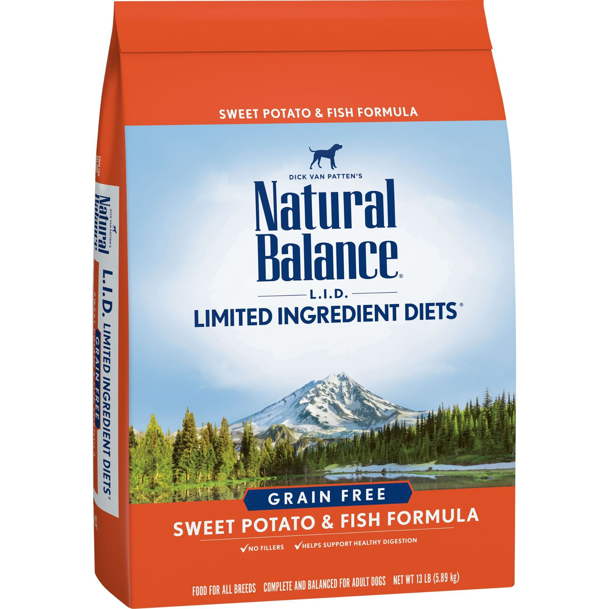 Natural Balance L.I.D. Limited Ingredient Diets Sweet Potato & Fish ...