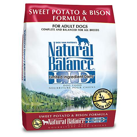 Natural Balance Dog Food Sweet Potato And Bison