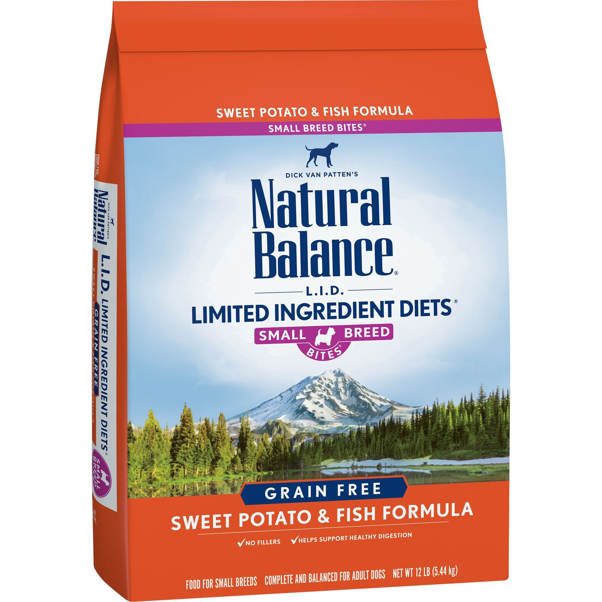 Natural Balance L I D Limited Ingre Ntts Sweet Potato Fish Small Breed Bites Dog Food