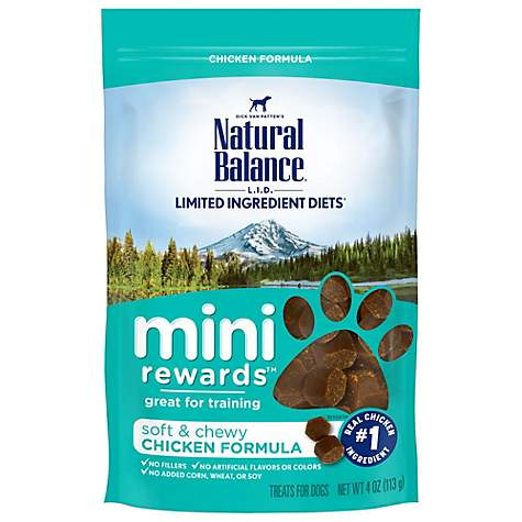 Natural Balance Mini Rewards Chicken Dog Treats