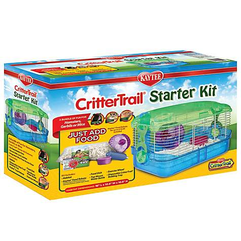 Kaytee CritterTrail Small Animal Habitat Starter Kit